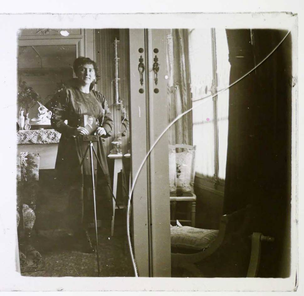 Stereoscopic Selfie Glass Positive from the Victorian Age - © MIND.WORK