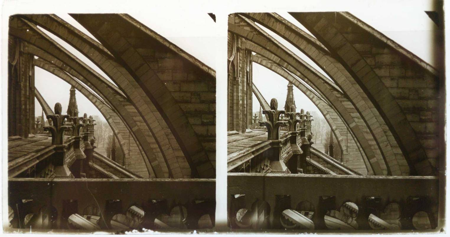 Stereoscopic Glass Positive from 1900-1920 - © MIND.WORK
