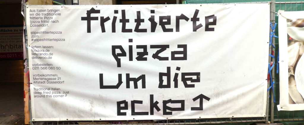 mind work Martin Blum signs o life frittierte pizza