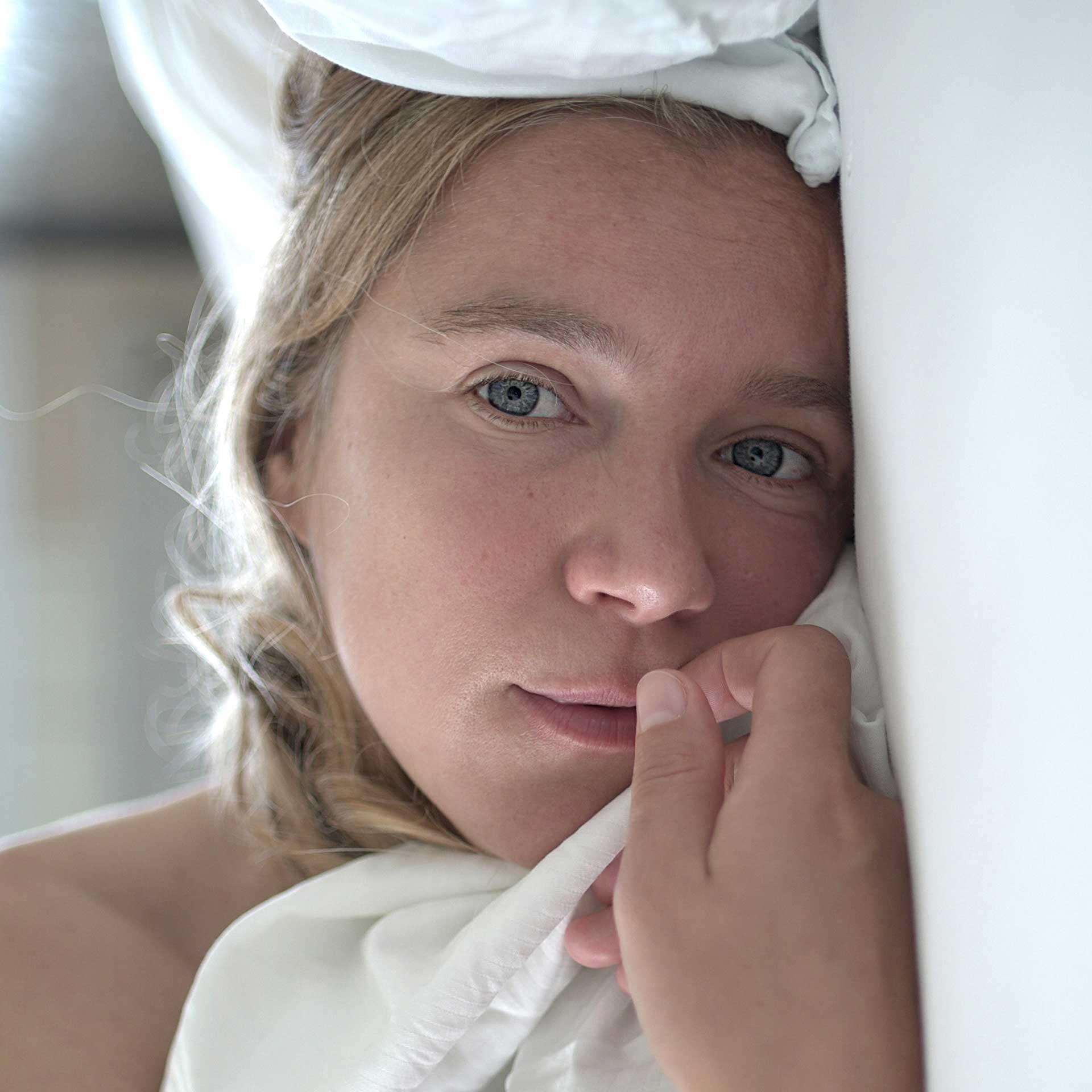 Actress Alexandra Schalaudek by Martin Blum
