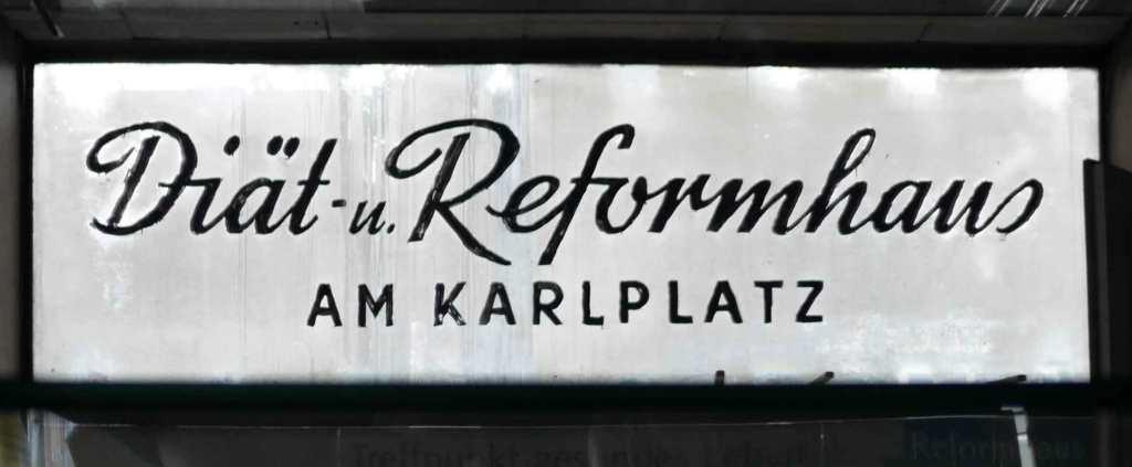 MIND WORK photo signs of life reformhaus drugstore