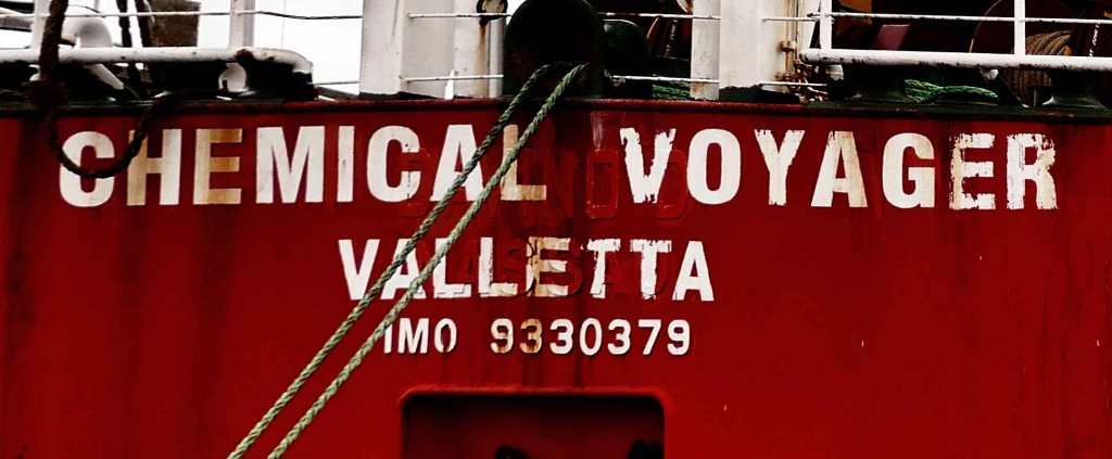 MIND WORK SIGNS OF LIFE  CHEMICAL VOYAGER VALLETTA IMO 9330379