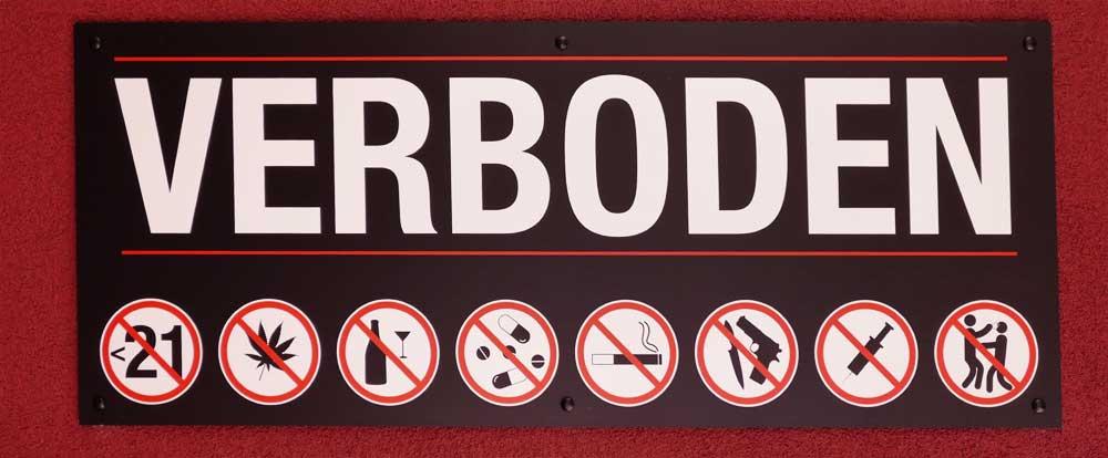 MIND WORK SIGNS OF LIFE VERBODEN in dutch discos