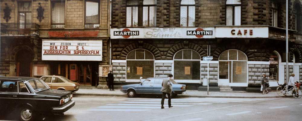 Martin Blum Mind Work Erinnerung an Heinz Cornrads panorama photo Cafe Schmitz Filmpalette