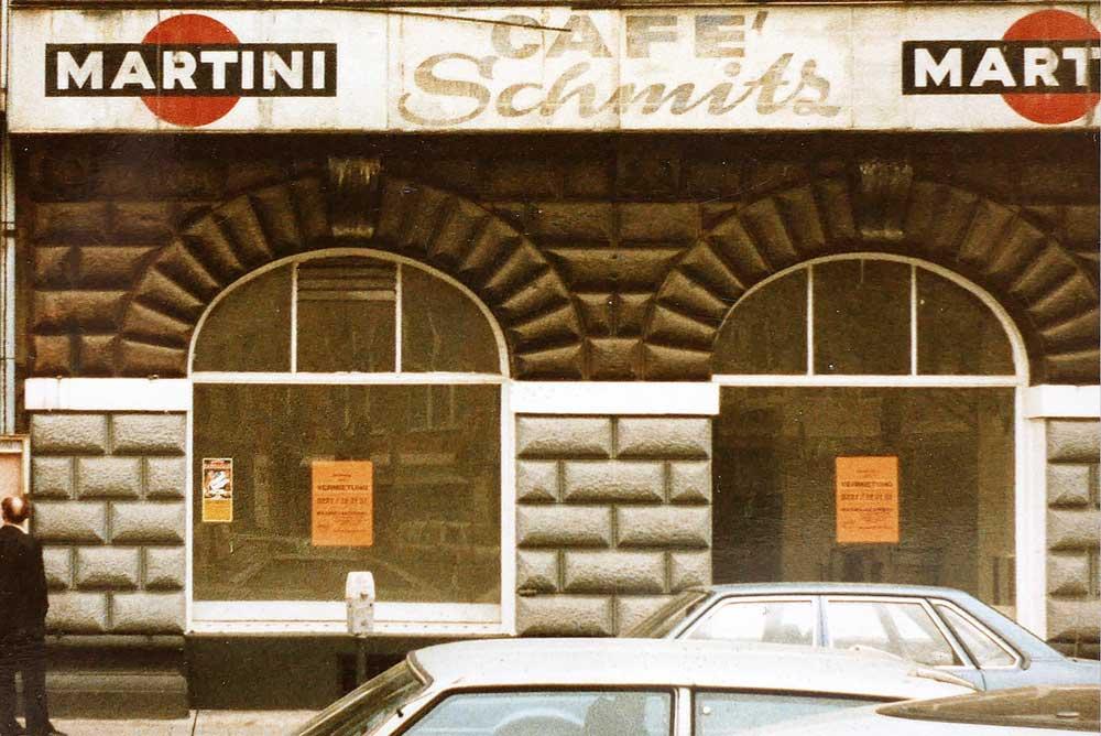 Martin Blum Mind Work Erinnerung an Heinz Cornrads photo Cafe Schmitz