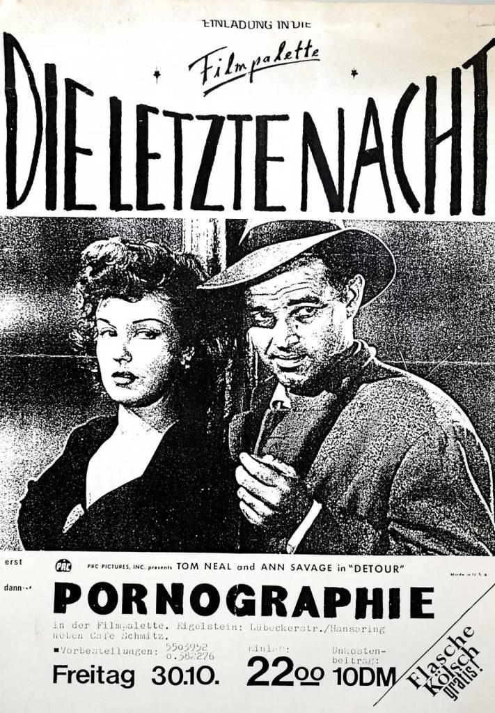 Martin Blum Mind Work Erinnerung an Heinz Cornrads Plakat Filmpalette
