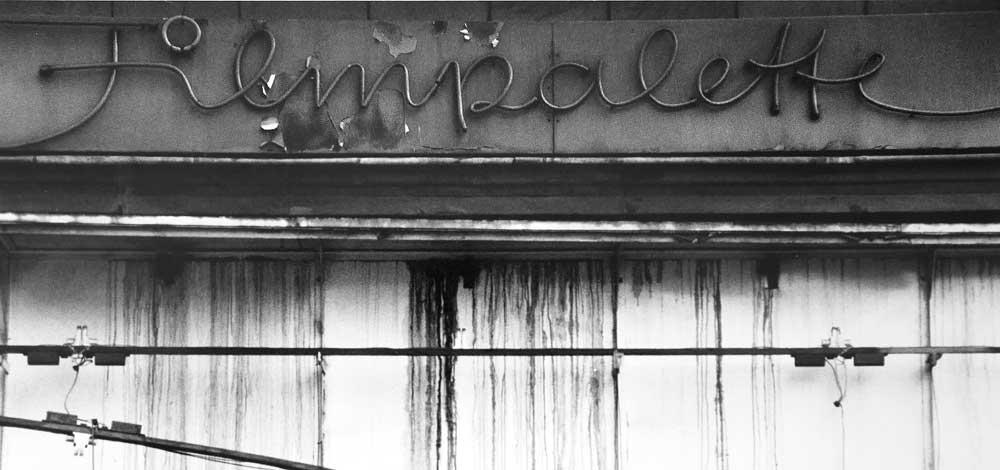Martin Blum Mindwork  Filmpalette Luebecker Strasse / Koeln ca. 1986 vor deren Umbau
